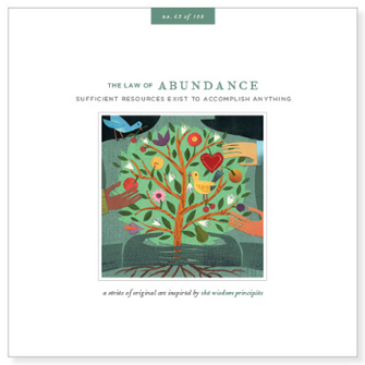 Law of Abundance Card