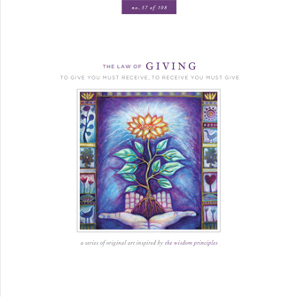Law of Giving Card